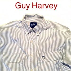Guy Harvey size Small Men's Vented Fishing Shirt